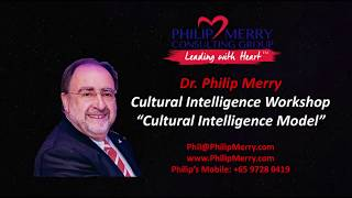 Cultural Intelligence Keynote Sri Lanka - Cultural Intelligence Model