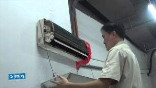 Hướng dẫn vệ sinh dàn lạnh điều hòa_Hệ thống điều hòa thông gió