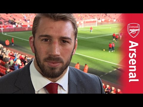 Chris Robshaw visits the Emirates