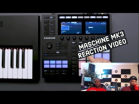 Reacting to Native Instruments MASCHINE MK3!