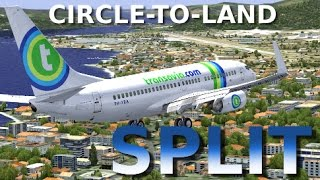 [FSX] PMDG 737 - SPLIT CIRCLE-TO-LAND