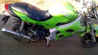 Мотоцикл GYRO JET 180 - выхлоп Akropovich