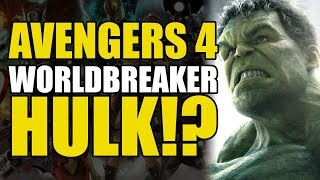 Avengers 4: World Breaker Hulk!