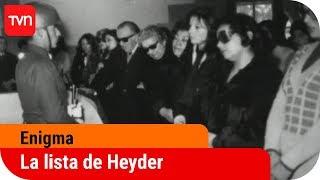 La lista de Heyder   Enigma – T6E9