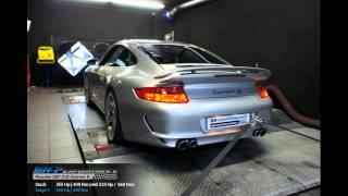 Reprogrammation Moteur Porsche 911 (997) 3.8i 355hp (Réel: 323hp) @ 350hp par BR-Performance
