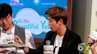 [hd Fancam] 121014 Lee Hyun Woo Eating Malaysian Food
