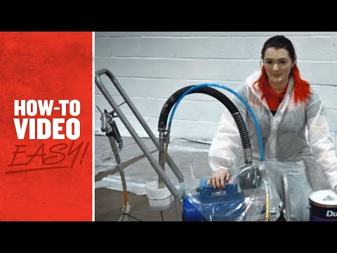 Kennards Hire – How to Prime an Airless Sprayer