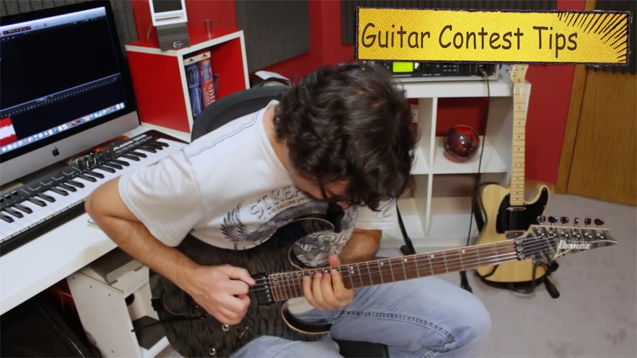How To Win Guitar Contests