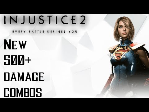 New Supergirl Combos: 500 Damage on Superman(Competitive Mode)