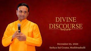 Divine Discourse by Sadguru Sri Madhusudan Sai - 25 December 2020, Christmas Celebrations