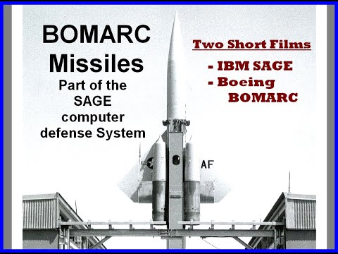 SAGE BOMARC Missile Defense Computer System 1950's Military History Boeing IBM MIT