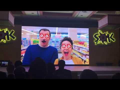 Şok market 2017 yeni reklam filmi Şok sana yeter yeterde artar