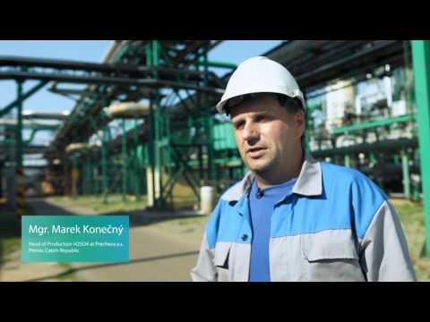 Steam turbine driven SIGENTICS generator for Precheza Chemical Industry site
