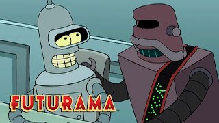 FUTURAMA | Season 1, Episode 5: Trial And Error Message | SYFY