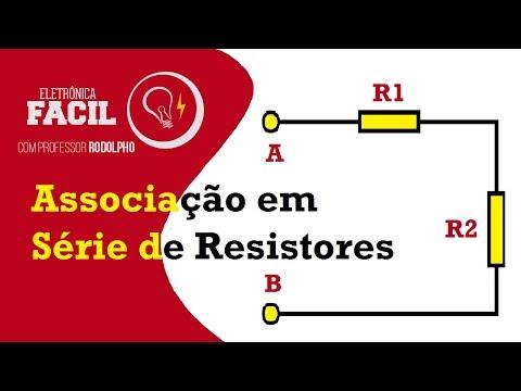 Associação de Resistores em Série - Resistência elétrica