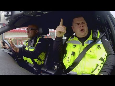 Do the clocking off dance with Scot Squad's traffic cops - Scot Squad series 2