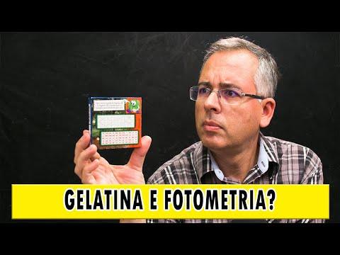 O que um pacote de gelatina pode te ensinar sobre fotometria