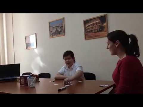 Фрагмент урока в языковой школе ИНТЕРЛЭНГ, Новосибирск