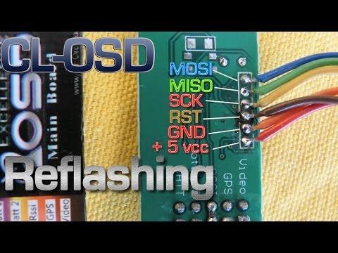 Reflashing HK G-OSD II  With Cl-osd