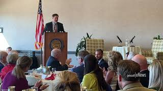 Governor Ducey speaks to the local Chambers about the State of the State.