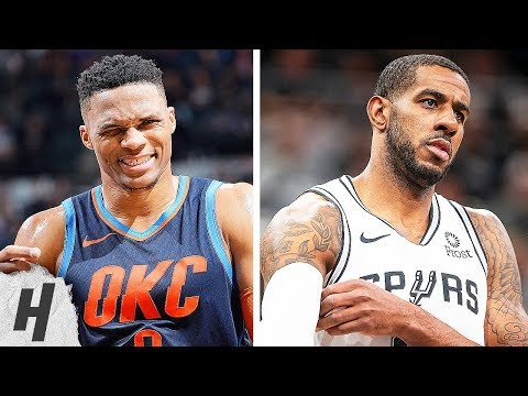 LaMarcus Aldridge Shows Westbrook & OKC Thunder Who's The Boss Here 2019.01.10 | EPIC Highlights