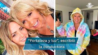 Así se despide Andrea Legarreta de su jefa, Magda Rodríguez
