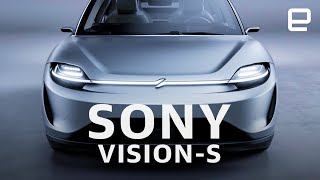 Sony Vision-S first look at CES 2020