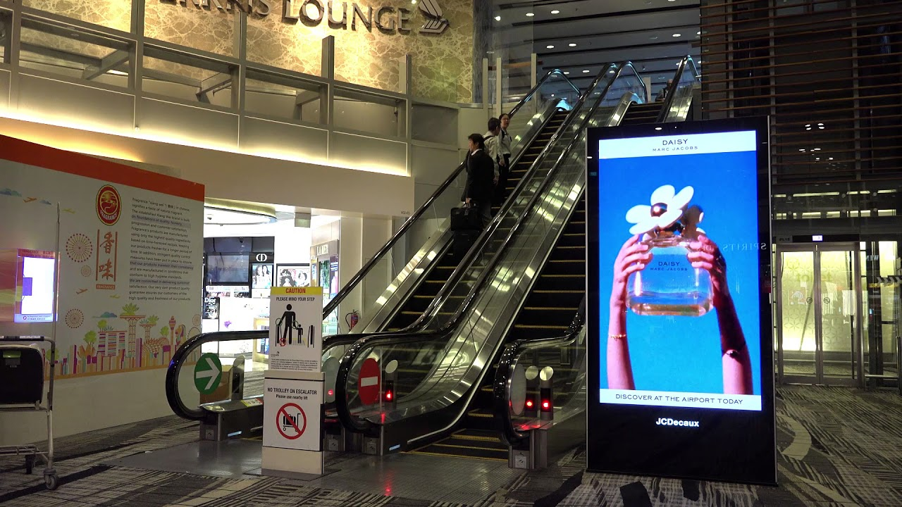 Marc Jacobs Daisy JCDecaux Singapore Changi Airport