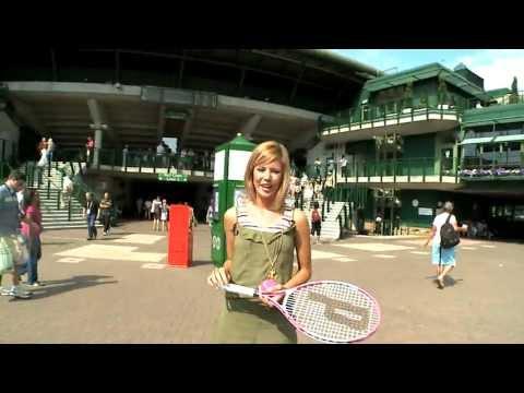 Wimbledon fans take part in