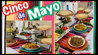 CINCO DE MAYO Food Buffet & Dessert Ideas