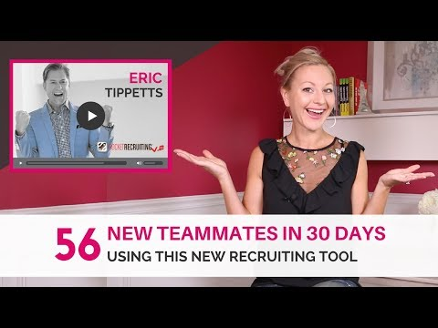 Prospecting Tools - How A Struggling Network Marketer Recruited 56 People in 30 Days Using One Simpl