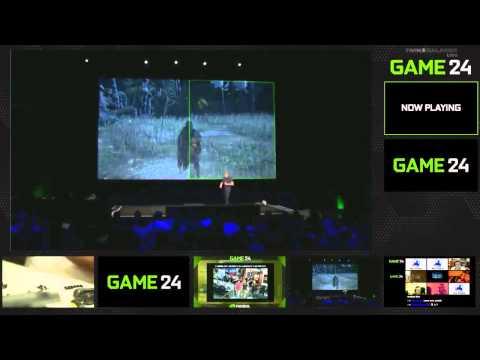 NVIDIA GAME24 Jen-Hsun Huang Keynote