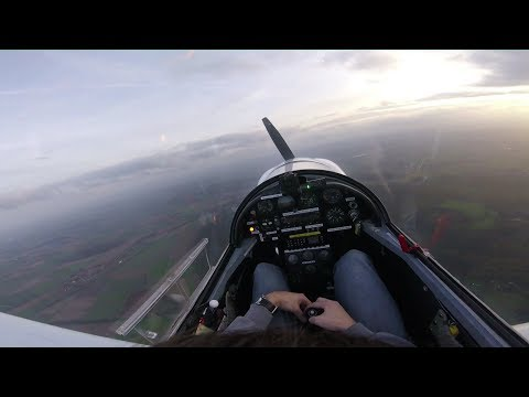 Having some fun flying the Fournier RF 5