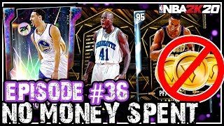 NO MONEY SPENT SERIES #36 - WE FINALLY GOT THE BEST *FREE* GALAXY OPAL! NBA 2k20 MyTEAM