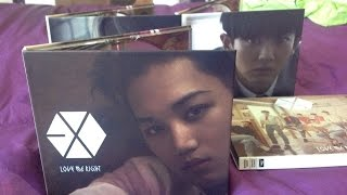 "Unboxing EXO ""Love Me Right"" Japanese Kai Ver."