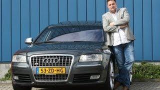 Op de rollenbank - Audi S8 V10