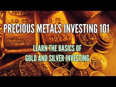 Precious Metals Investing 101: Gold, Silver, and Palladium