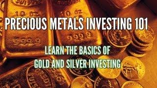 Precious Metals Investing 101: Gold, Silver, and Palladium