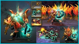 DOTA 2 Shadow Shaman Best Mix Set Censer of Gliss + Golden Lamb to the Slaughter