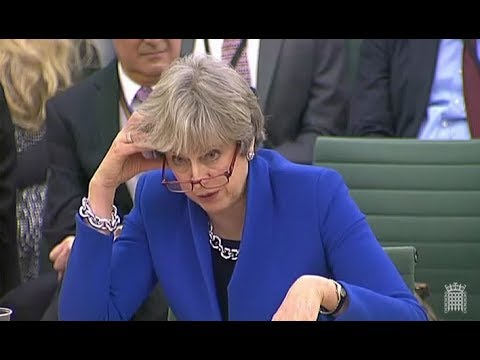 2017 12 20 PM Theresa May Brexit transition Liaison Committee House of Commons UK parliament