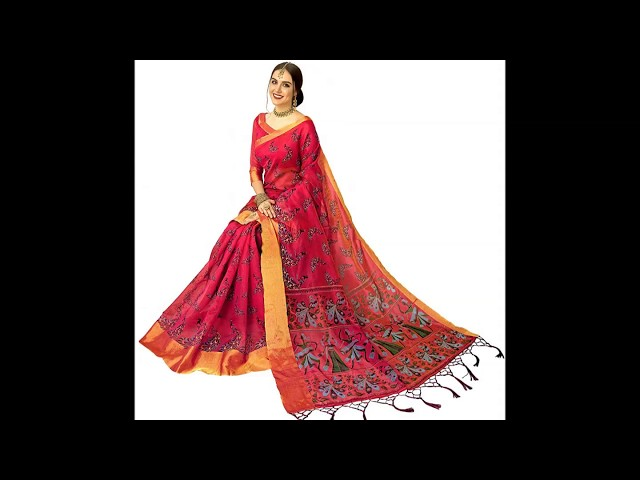 Latest Silk sarees on AMAZON DIWALI SALE all under 500