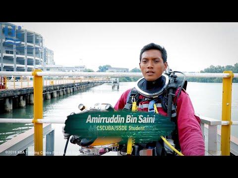 Commercial Diver as a Career - Amirruddin Bin Saini