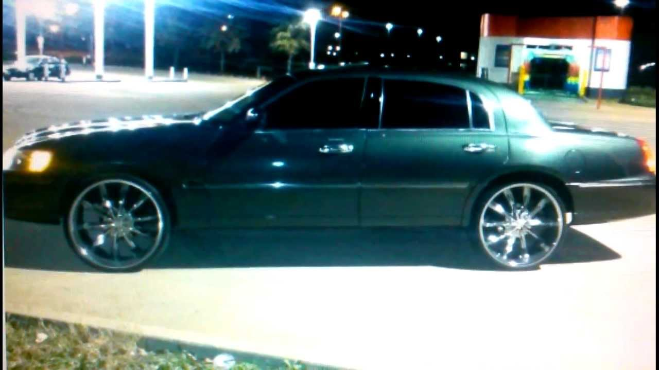 2001 Towncar With 24s Priced Cheap To Sell 3100 Oak Cliff Youtube