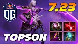 TOPSON VOID SPIRIT - NEW IMBA? - PATCH 7.23 DOTA 2