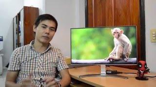 [Review] Đánh giá nhanh Màn hình LG 24MP88HM 2016 thiết kế không viền 4 cạnh, màu sắc ấn tượng.