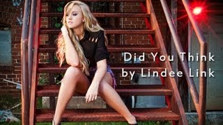 Lindee Link - Did You Think