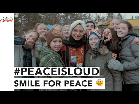 Smile for PEACE - With Fly with Haifa - The 2016 Nobel Peace Prize Concert