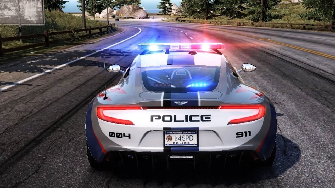 Need For Speed Hot Pursuit Aston Martin One 77 Police Test Drive Gameplay Hd 1080p60fps Youtube
