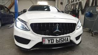 Mercedes C250d Stage 1 Remap with dyno - Certified Remaps