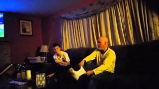 DAD HAS FOOT FETISH